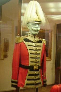 Austro-Hungarian infantry uniform of the  Palace Guard circa 1914.
