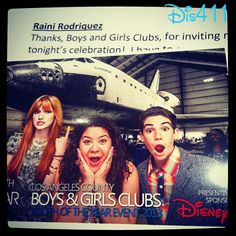 Photo: Raini Rodriguez With Bella Thorne And Cameron Boyce March 20, 2013