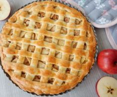 Jablečný koláč Apple Pie, Waffles, Nom Nom, Sweet Tooth, Food And Drink, Cooking Recipes, Sweets, Bread, Cookies