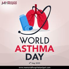 Better air and better breathing are what we need to make this world free of Asthma. Memorial Hospital, Asthma, Memories, World, Day, Free, Memoirs, Souvenirs, The World