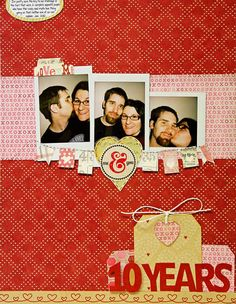 Mandy Koeppen's Gallery: : Me & You Ten Years *Feb Cocoa Daisy Kit*