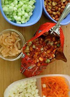 Receta de dorilocos. ¿Te gustan los dorilocos? Aprende cómo preparar dorilocos de 3 diferentes formas, una botana riquísima. | ¡Checa aquí más recetas!