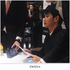 awesome [Today] Actor Kim Soo Hyun at ZioZia Fan Signing Event 2014