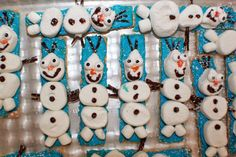 Curts Delectable Creations: Olaf Food Art Recipe