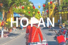 If there is ever a place to enjoy life in Vietnam, it most surely is in Hoi An.... a three-day itinerary to how my ideal days in Hoi An, Vietnam would look like.