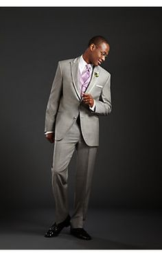 Complement a casual #wedding with a look that's just right in a @CalvinKlein Two-Button Super 100s Notch Lapel #Tuxedo.