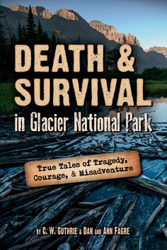 """""""Death & Survival in Glacier National Park"""" just arrived from the printer! I have 4 that I can give away if anyone interested in reading/leaving an honest GoodReads or Amazon review. If more than 4 comment I'll give them to the top voted comments? (I work for Farcountry Press a Montana indy pub)"""