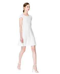 A - LINE FABRIC DRESS - Dresses - Woman | ZARA United States