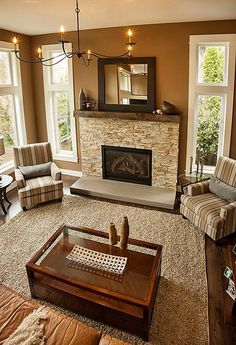 formal living room with brick fireplace what is a good color for red decor contemporary find more amazing designs on zillow digs i like these neutrals and the wall