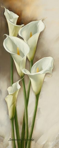 Цветы художника Игоря Левашова - Picmia