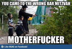 You Came to the Wrong Bar Mitzavh