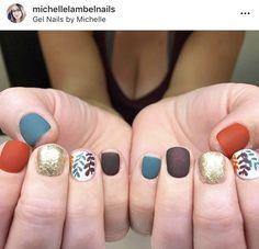 Fancy Nails, Cute Nails, Pretty Nails, Fall Nail Art Designs, Nail Polish Designs, Shellac Nails, Acrylic Nails, Hair And Nails, My Nails