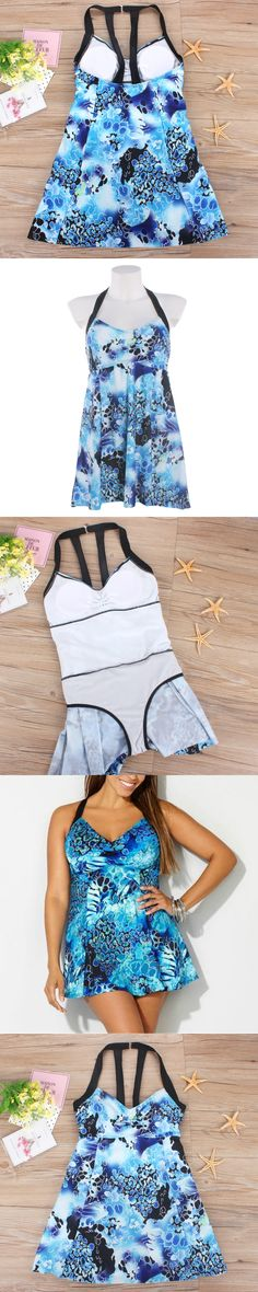 Women One Piece Swimsuit Dress Female Swimwear Large Size Swimsuits Plus size May Women's Beach Bathing Suits Monokini D708