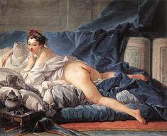 Brown Odalisque, Francois Boucher