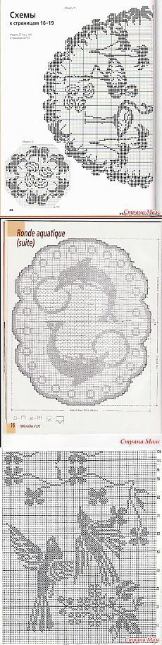 """Филейное вязание крючком схемы буквы. Дневник группы """"Все в ажуре... (вязание крючком)"""""""