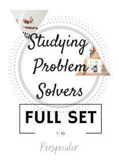 Get the full set of studying problem solver workbooks and have the best semester of your life!