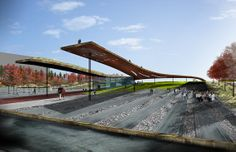 Williamsburg Waterfront Performance Venue - New York City's East River | HM White