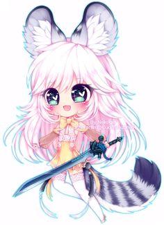 Chibi 48 49 Best Of C Cuddlybunneh by Nekogirl San On Deviantart W 2019 Chibi Kawaii, Manga Kawaii, Chibi Cat, Cute Anime Chibi, Anime Neko, Kawaii Art, Kawaii Anime Girl, Anime Art, Cute Animal Drawings Kawaii