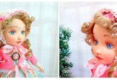 DIY Cara de muñeca en 3D Sewing Dolls, New Year Gifts, Soft Dolls, Fabric Dolls, Doll Face, Pin Cushions, Crochet Toys, Crochet Bikini, Doll Clothes