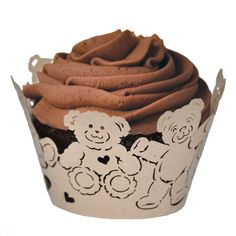 Teddy Bear Cupcake Wrapper