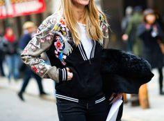 Jeito Simples de Ser: Moda: Jaqueta Bomber