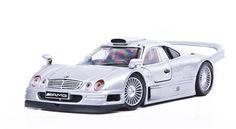 Maisto Special Edition - Mercedes Benz CLK-GTR Model Car 1:26 - Silver (31949)  Manufacturer: Maisto Enarxis Code: 018058 #toys #Maisto #miniature #cars #Mercedes #CLK-GTR