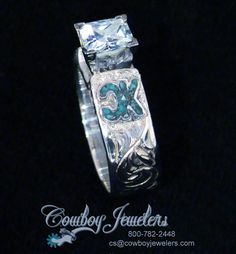 New Pic CowboyJewelers.Com ***The Cowboy Jewelry Source*** Concepts Have you been searching for cheap wedding rings? At EFES you'll find wedding bands from Nuremberg. Western Engagement Rings, Western Wedding Rings, Western Rings, Cowgirl Wedding, Cowgirl Bling, Cowgirl Jewelry, Western Jewelry, Diamond Engagement Rings, Cowgirl Tuff
