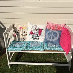 13 ways to upcycle your baby's old things. Reuse clothing to make memorable quilts or  more useful items.