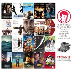 Tom Hanks Day (@TomHanksDay) | Twitter - social media graphic by kay-africa.co.za Best April Fools, Savings Bank, Movie Marathon, Tom Hanks, Sully, Hologram, Toy Story, The Fool, My Design