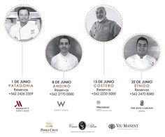 HOTELES: Gastronomía Chilena en 5 tiempos #HotelesSantiago #SantiagoElegante_Marriot #SantiagoElegante_Theritzcartonsantiago #SantiagoElegante_Sheraton