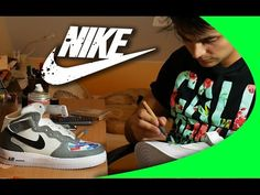 e2877e5b50f32 (49) Custom Nike Sneakers - YouTube Nike Sneakers