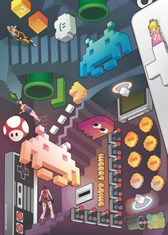 Lost in video games - Love it! Want it!!!