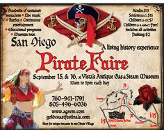 SanDiego Pirate Festival