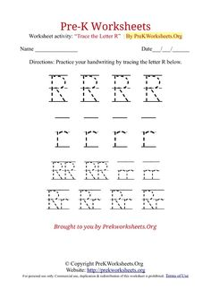 Pre-K Alphabet Tracing Worksheets in PDF. Learn to Trace Alphabet Letters with our Free A to Z Printable Pre-K Tracing Worksheets Printable Alphabet Worksheets, Letter Worksheets For Preschool, Algebra Worksheets, Free Kindergarten Worksheets, Writing Worksheets, Kindergarten Writing, Tracing Letters, Pre Writing, Learning Letters