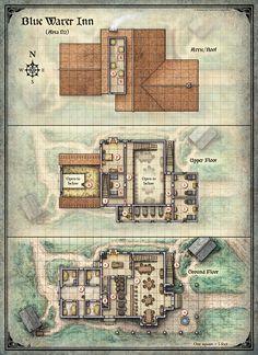 Curse of Strahd; Blue Water Inn (Digital DM & Player Versions) $1.75