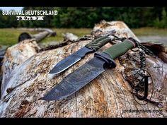 Ultimatives Survival Messer Set OPO und Skeleton von Andrew Jordan