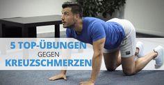 5 TOP-ÜBUNGEN GEGEN KREUZSCHMERZEN (y)   Im heutigen Beitrag wirst du 5 wirkungsvolle und äußerst hilfreiche Übungen gegen Kreuz- und Rückenschmerzen kennenlernen, die dich ein für alle Mal von lästigen Schmerzen im Rückenbereich befreien.   Nehme dir ein paar Minuten Zeit und nutze sie effektiv, um deine Rückenmuskulatur zu dehnen  und zu stärken! ☝           Was ist dein Geheimtipp gegen Kreuz- und Rückenschmerzen?