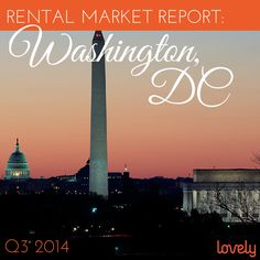 Looking to rent in Washington DC? Check out our most recent quarterly report to get the scoop on insights into renting in DC! #lovelydata