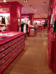 Victoria's Secret! This store is so pretty!