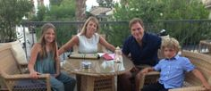 Fay Ripley and family at our Eros Bar :) http://travelbeam-luxury-hotels.co.uk/wpm/cms/news-article/melissa-blog/2015/01/14/fay-ripley-visits-columbia-beach-resort-in-cyprus