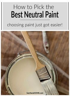 Learn how to choose the perfect greige paint with these simple tricks and avoid ending up with too much pink or beige in your final color!