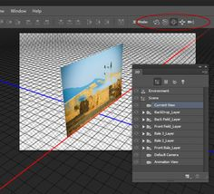 Create a Parallax Shift Effect Using Timeline and 3D Features of Photoshop CS6 - Tuts+ Design & Illustration Tutorial