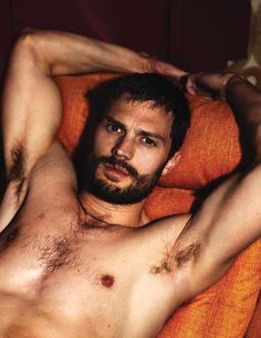 Jamie Dornan Outtakes–Photo outtakes from Jamie Dornan's Interview shoot have emerged. The Fifty Shades of Grey actor covers the June/July issue of Interview. For the magazine's gritty cover shoot, the former model connected with photography duo Mert & Marcus. Captured in bed, wearing underwear and grungy t-shirts, Dornan was styled by Karl Templer.  Related