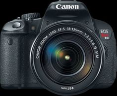 Canon EOS Rebel T4i .. I want ......http://www.dpreview.com/products/canon/slrs/canon_eos650d