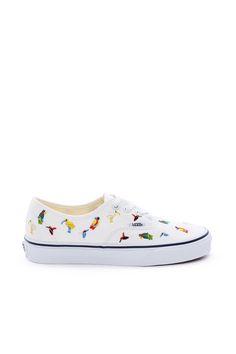 vans bird print sneaker