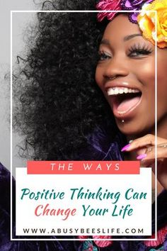 Positive thinking can make you a better and happier person. Leave negativity behind. Read more on how to change your thoughts and self talk. via @abusybeeslife