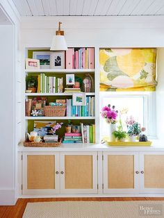 Beautiful remodeled bookcase