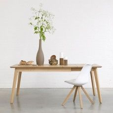 Bianco II solid wood extending dining table in oak or walnut and endless size options. Wooden Dining Tables, Solid Wood Dining Table, Extendable Dining Table, Dining Room Furniture, Wood Furniture, Wood Source, Sustainable Furniture, Table Height, Wood Interiors
