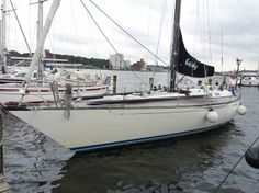 Gatsby is a beautiful semi-custom Baltic 51 sloop designed by the C&C Design group Hull material: Polyester sandwich Dimensions: l= 15.54m b= 4.66m d= 2.74m  Year built: 1988 Flag: German flag Displacement: 15.6 Tons VAT status: VAT paid Engine: Yanmar 75 Hp. Price: € 195.000 #boat #boats #boating #forsale #boatforsale #yachting #yacht #yachts #yachtsforsale #sail #sailing #sailingboat #sailingboatforsale #motorboat #motorboatforsale #flybridge #princessyachts #hollandyachting #moody