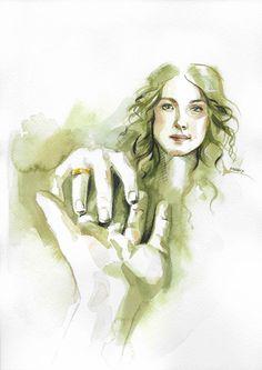 Take my hand - Outlander fanart of C100D17  - Claire and Jamie frazer - Caitriona Balfe - Sam Heughan